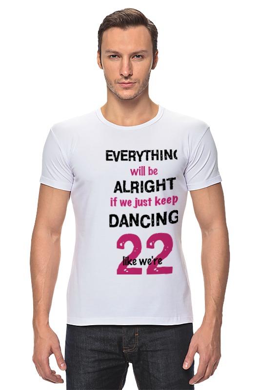 Футболка Стрэйч Printio Taylor swift 22 schoffel swift shirt