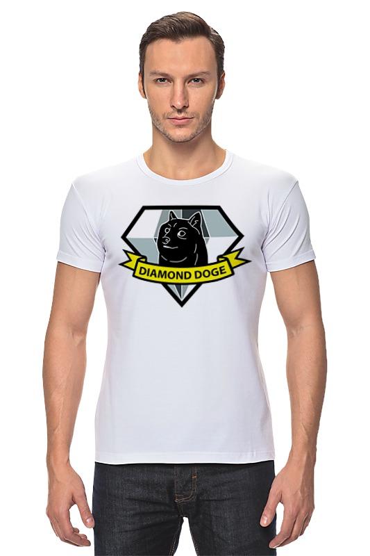 Футболка Стрэйч Printio Diamond doge (metal gear solid)