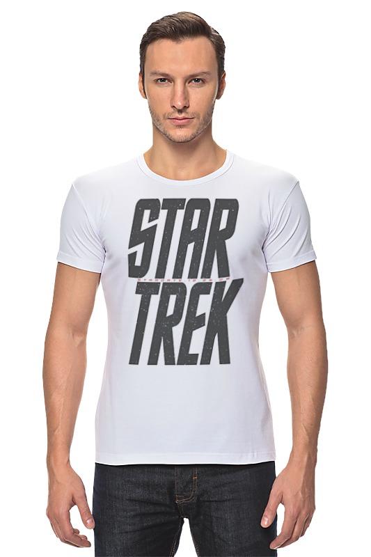 Футболка Стрэйч Printio Star trek / звездный путь star trek the visual dictionary