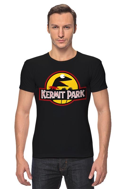 Футболка Стрэйч Printio Kermit park maggie and kermit hollywood