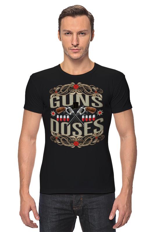 Футболка Стрэйч Printio Guns n roses держатель для капсул xavax 111116 rondello silver