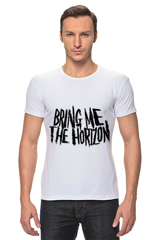 Футболка Стрэйч Printio Bring me the horizon футболка для беременных printio bring me the horizon змеи