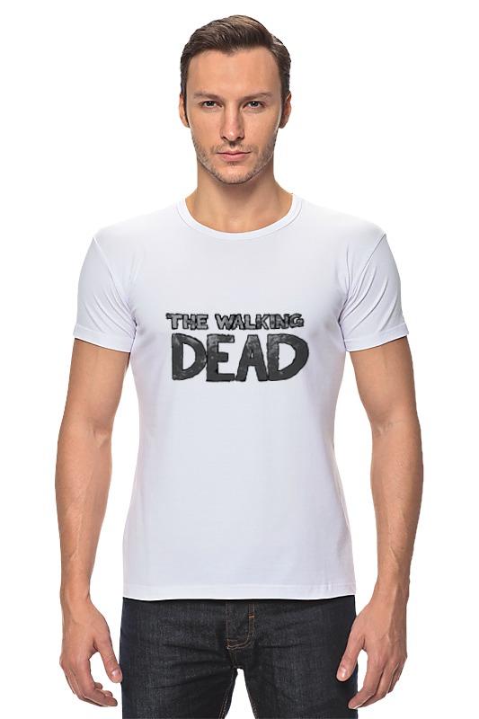 Футболка Стрэйч Printio The walking dead худи print bar the walking dead