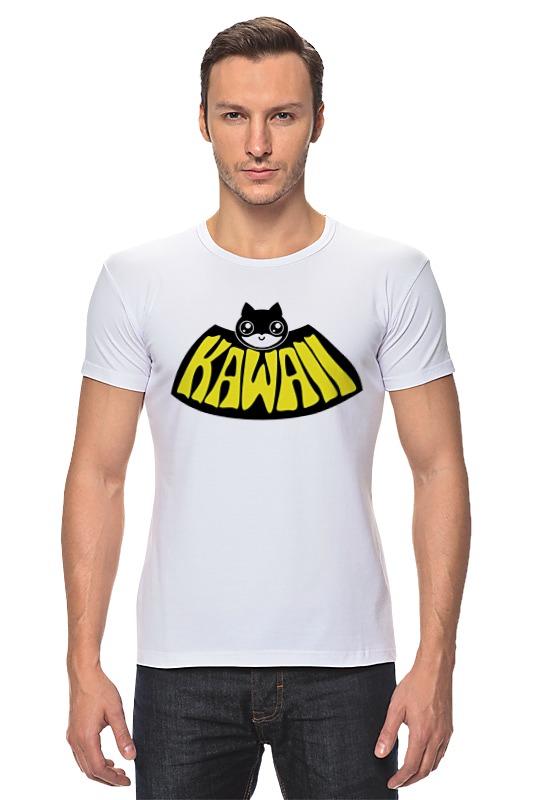 Футболка Стрэйч Printio Kawaii x batman футболка стрэйч printio ice king x batman