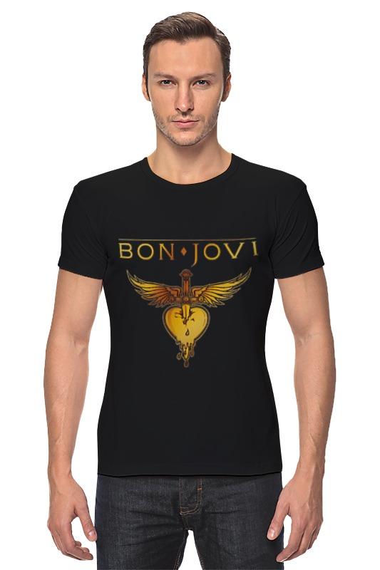 Футболка Стрэйч Printio Bon jovi bon jovi in their own words