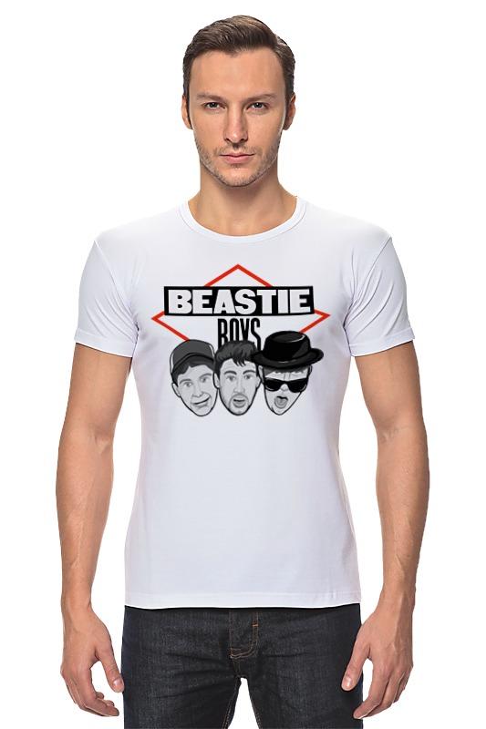 Футболка Стрэйч Printio Beastie boys