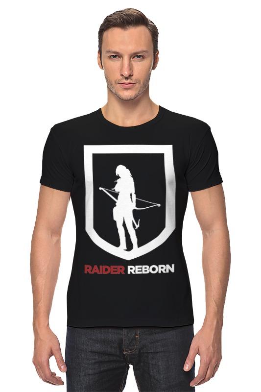 Футболка Стрэйч Printio Tomb raider (reborn) майка классическая printio tomb raider reborn