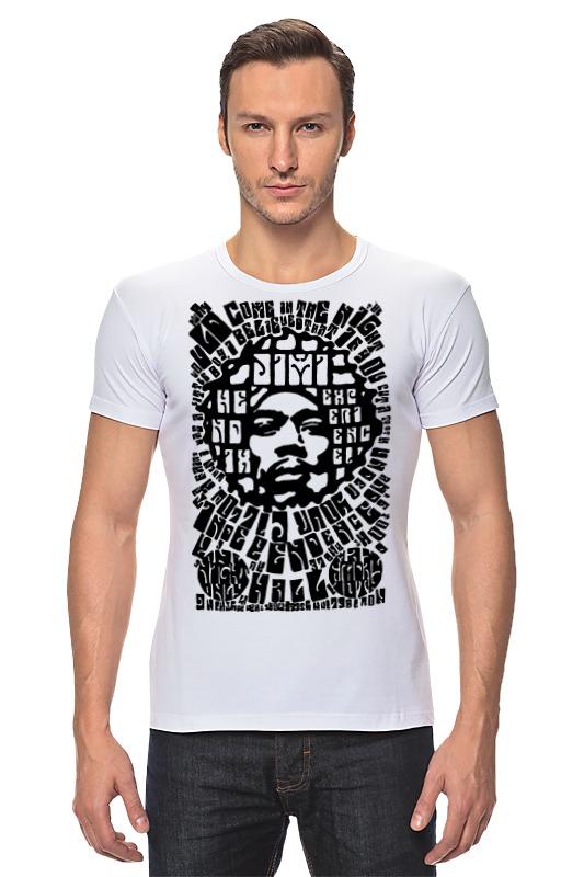 Футболка Стрэйч Printio Jimi hendrix футболка print bar jimi hendrix