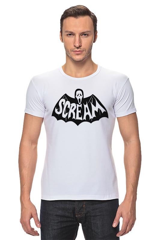 все цены на Футболка Стрэйч Printio Крик (scream) онлайн