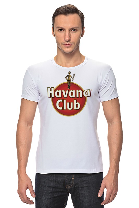 Футболка Стрэйч Printio Havana club havana club anejo reserva