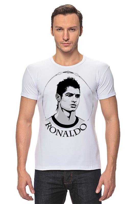 Футболка Стрэйч Printio Криштиану роналду футболка стрэйч printio real madrid реал мадрид
