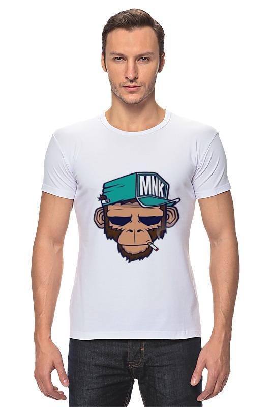 Футболка Стрэйч Printio Mnk design. original design vialli design
