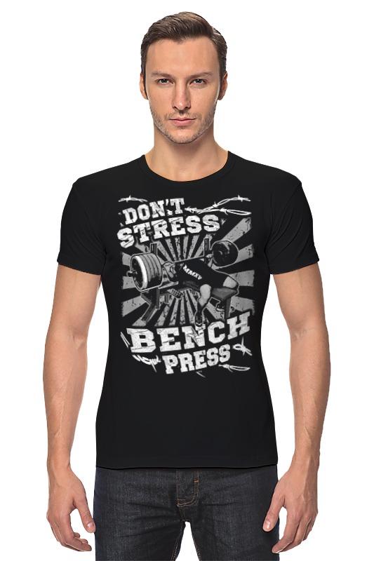Футболка Стрэйч Printio Bench press футболка bench футболка