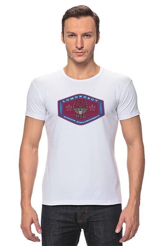 Футболка Стрэйч Printio Футболка женская мгу футболка magnetiq футболка