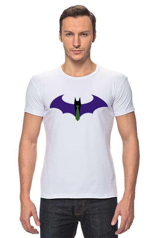 Футболка Стрэйч Printio Batman x joker лонгслив printio batman x joker
