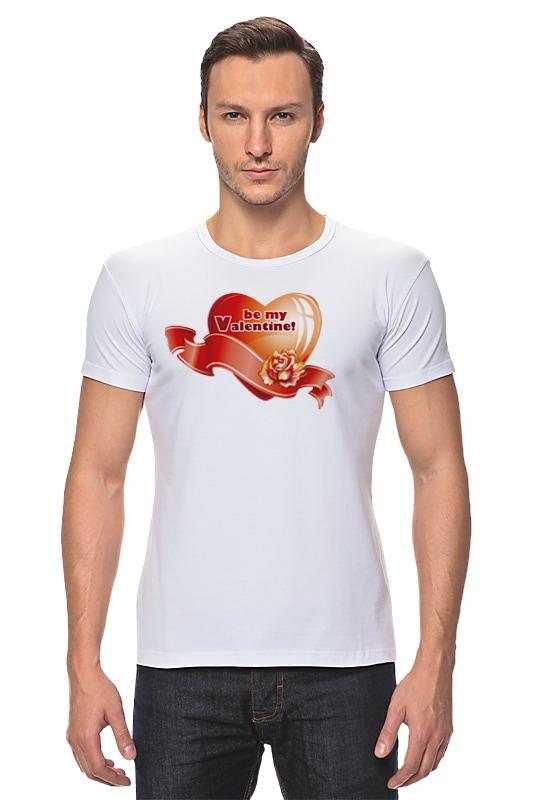 Футболка Стрэйч Printio be my valentine! футболка стрэйч printio be fluid while they are solid