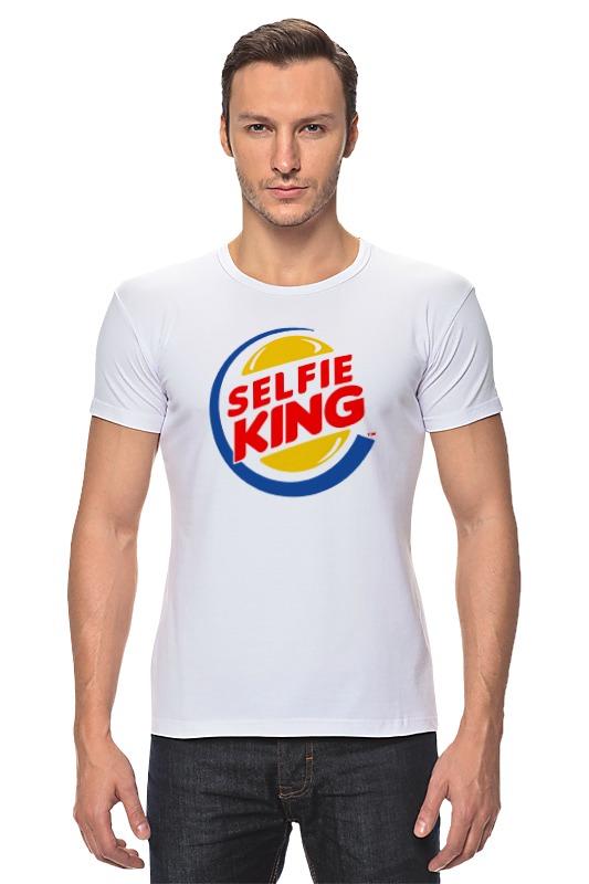 Футболка Стрэйч Printio Король селфи (selfie king) футболка стрэйч printio kong is king кинг конг