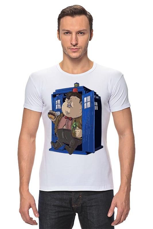 Футболка Стрэйч Printio Fat doctor who футболка рингер printio доктор кто doctor who