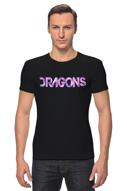 Футболка Стрэйч Printio Imagine dragons imagine dragons imagine dragons night visions