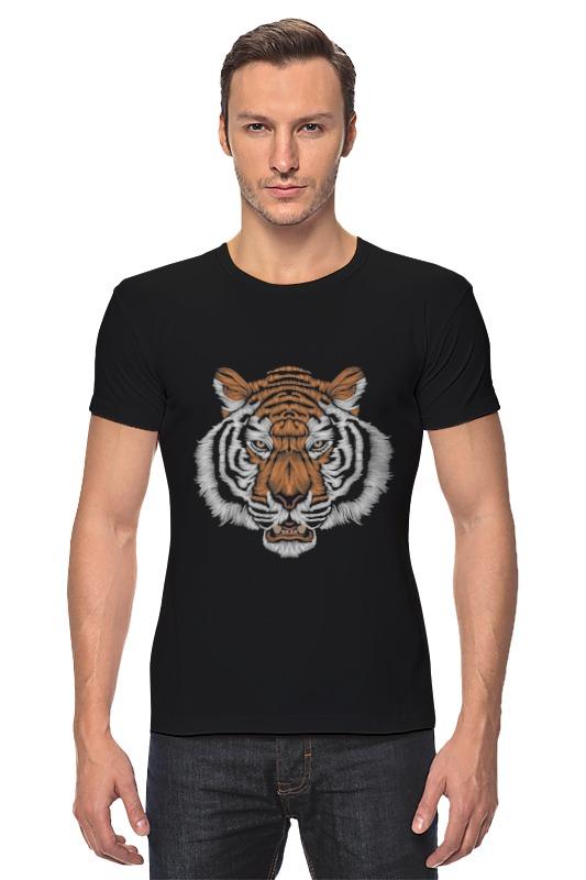 Футболка Стрэйч Printio Взгляд тигра наборы для рисования цветной картины по номерам взгляд тигра