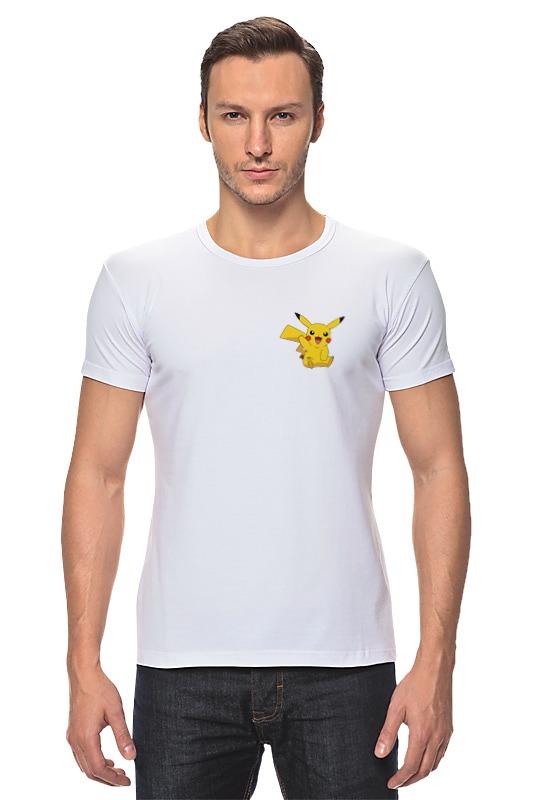 Футболка Стрэйч Printio Pokemon go - catch it! go - catch it! блокнот printio pokemon go
