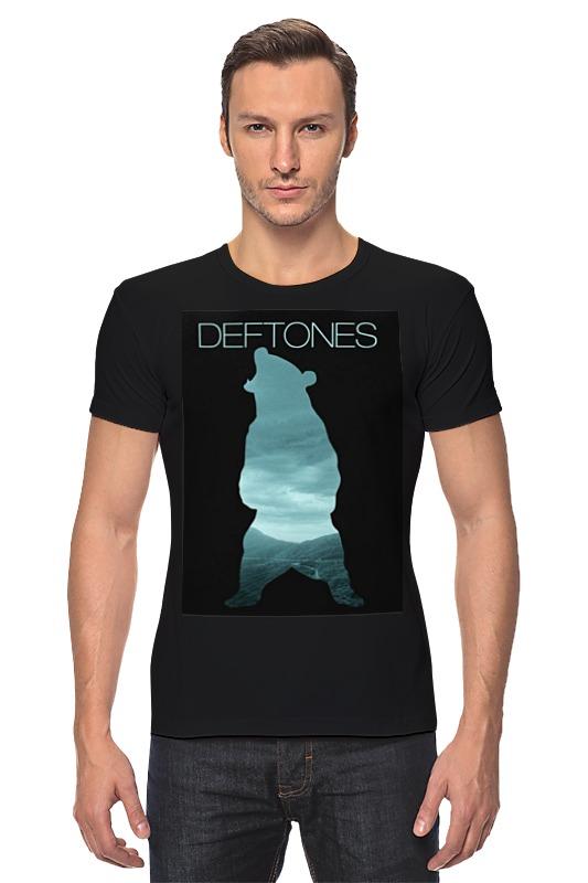 Футболка Стрэйч Printio Deftones teddy футболка стрэйч printio dead teddy bear