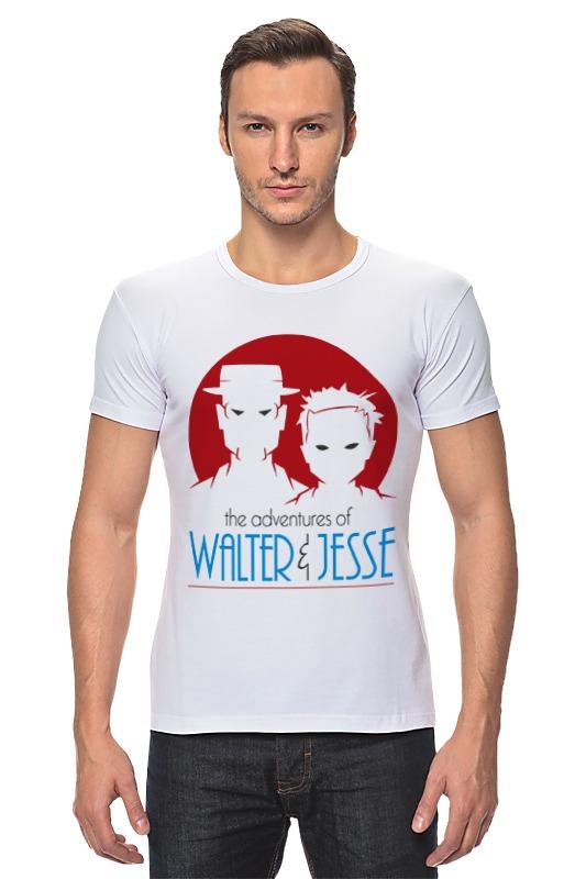 Футболка Стрэйч Printio Walter & jesse scott walter waverly vintage past scott walter
