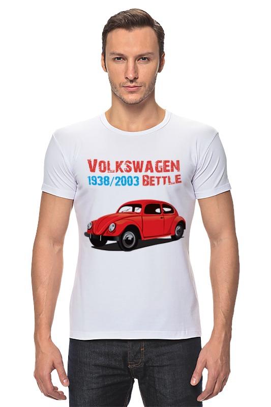 Футболка Стрэйч Printio Вольскваген жук футболка классическая printio вольскваген жук