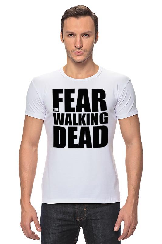 Футболка Стрэйч Printio Fear the walking dead худи print bar the walking dead