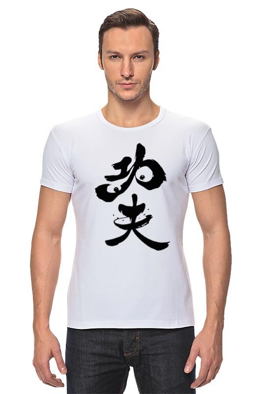 Футболка Стрэйч Printio Kung fu panda women s kung fu tai chi martial arts suit wushu wing chun performance costumes