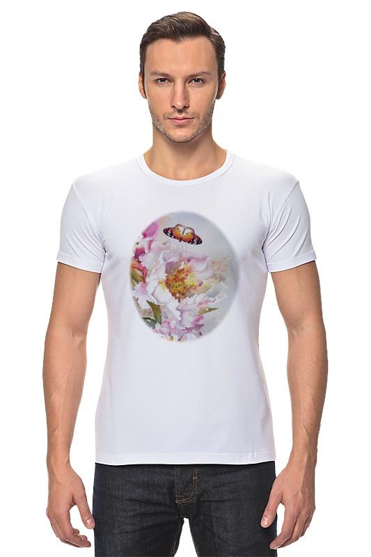 Футболка Стрэйч Printio Пионы и бабочки 2 футболка стрэйч printio 62 2% в саратове