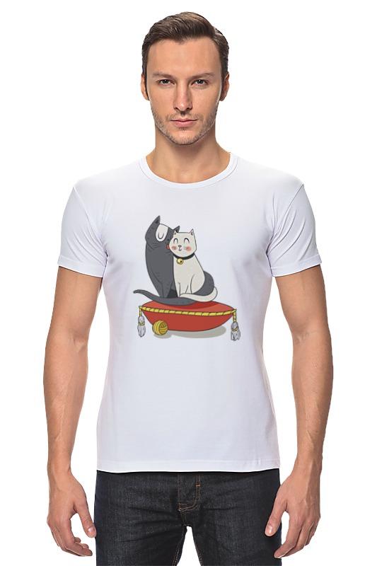 Футболка Стрэйч Printio Милые кошки футболка для беременных printio милые кошки
