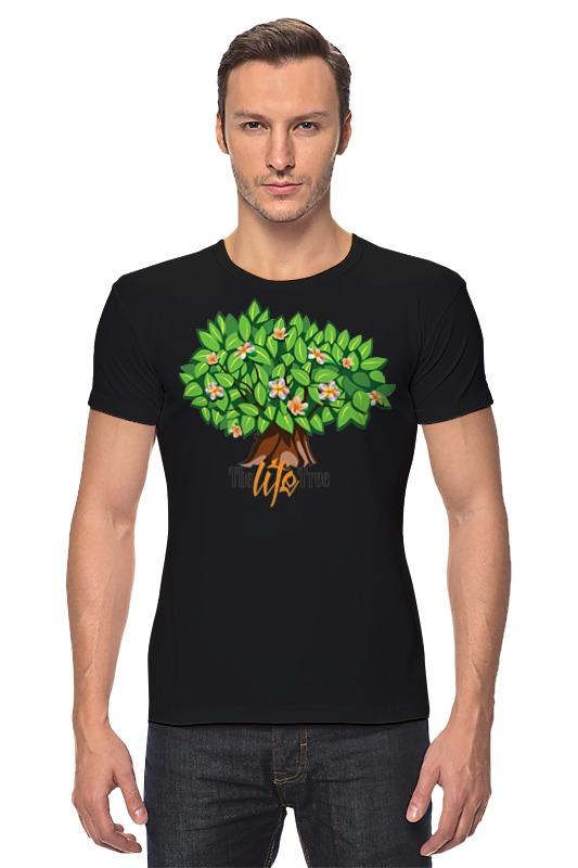 Футболка Стрэйч Printio Icalistini the life tree дерево жизни кувшин дерево жизни
