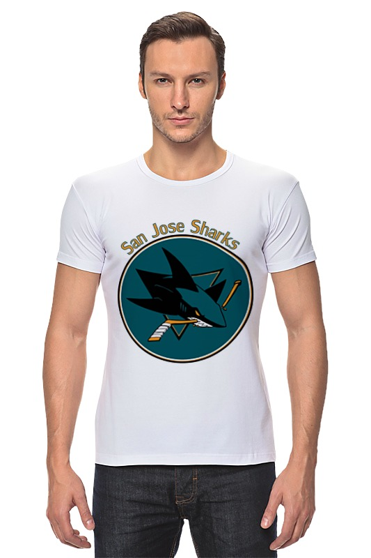 Футболка Стрэйч Printio San jose sharks футболка wearcraft premium printio сан хосе шаркс