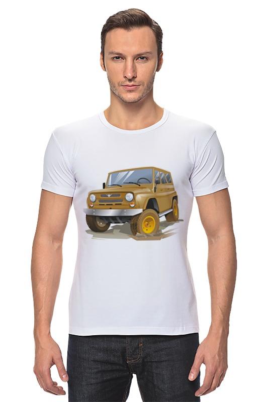 Футболка Стрэйч Printio Автомобиль уаз автомобиль уаз 469 в спб