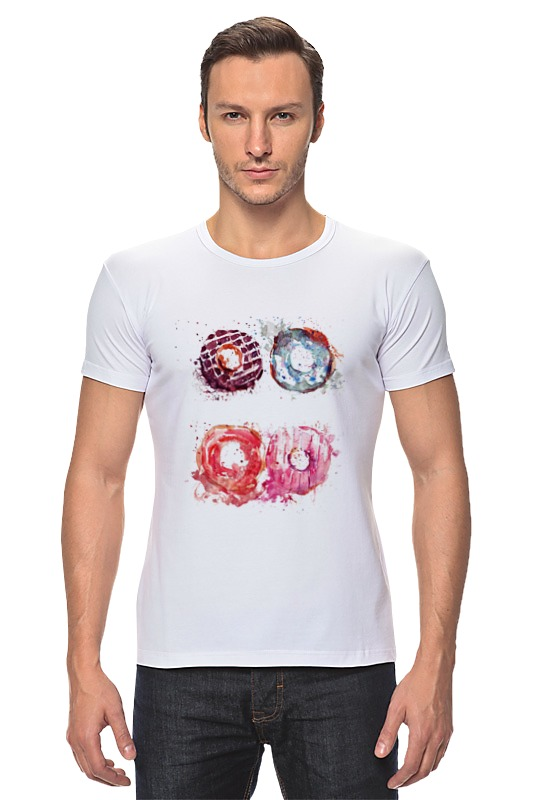 Футболка Стрэйч Printio Пончики! donuts футболка классическая printio пончики donuts