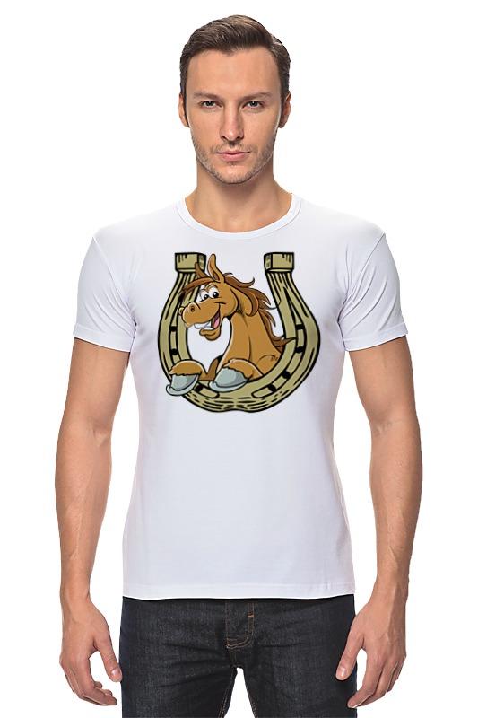 Футболка Стрэйч Printio Лошадь в подкове футболка стрэйч printio 62 2% в саратове