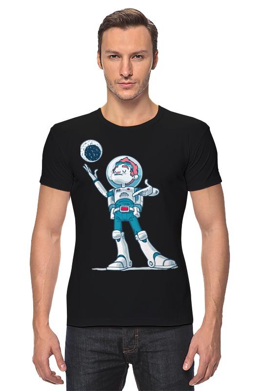 Футболка Стрэйч Printio Astroboy / астронавт телескоп ioptron astroboy orange