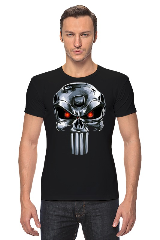 Футболка Стрэйч Printio Punisher of the future лонгслив printio punisher of the future