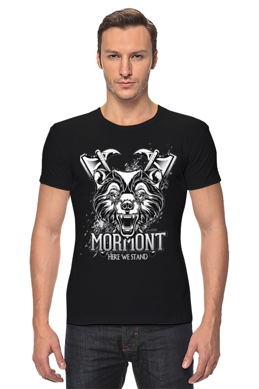 Футболка Стрэйч Printio Медведь мормонтов (игра престолов) футболка wearcraft premium printio игра престолов