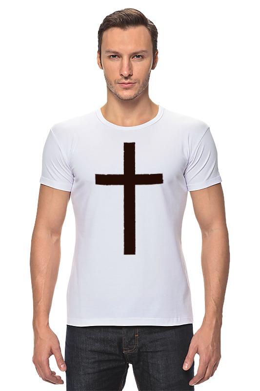 Футболка Стрэйч Printio Крест сумка printio армянский крест