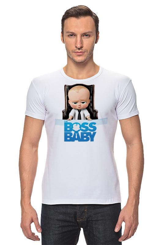 Футболка Стрэйч Printio Босс-молокосос / the boss baby босс молокосос blu ray 3d