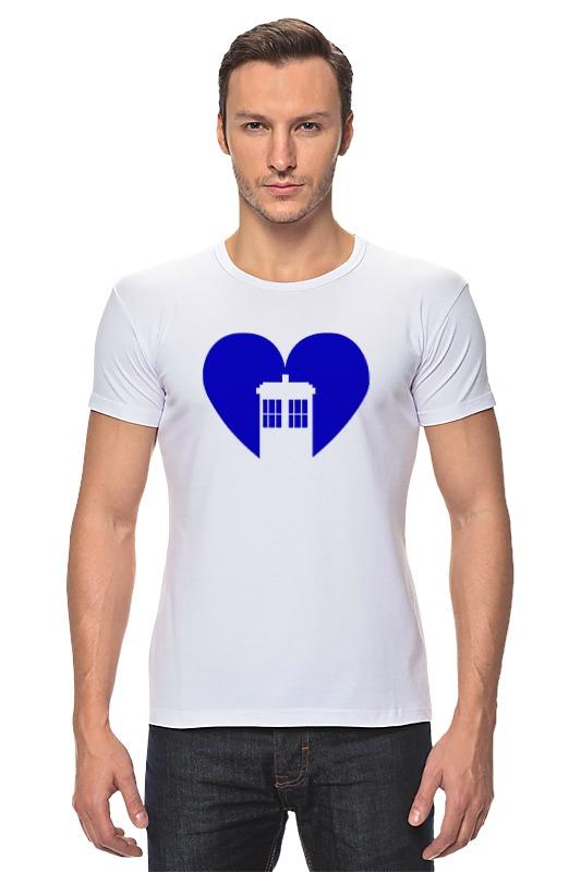 Футболка Стрэйч Printio Тардис (доктор кто) футболка рингер printio доктор кто doctor who