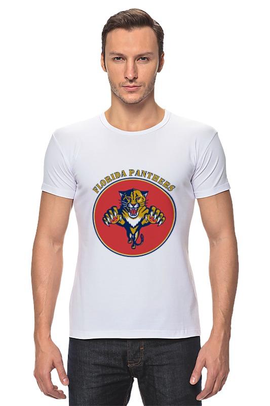 Футболка Стрэйч Printio Флорида пантерс jonathan p gilbert florida флорида зеленый гид