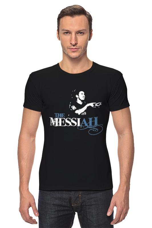 все цены на Футболка Стрэйч Printio The messiah онлайн