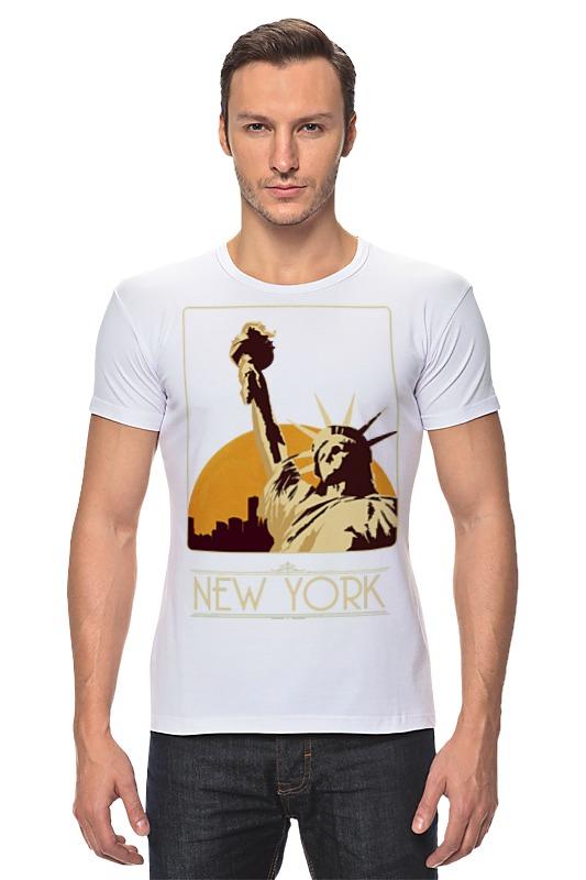 Футболка Стрэйч Printio New york футболка стрэйч printio new york
