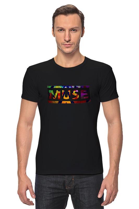 Футболка Стрэйч Printio Muse into me футболка стрэйч printio muse