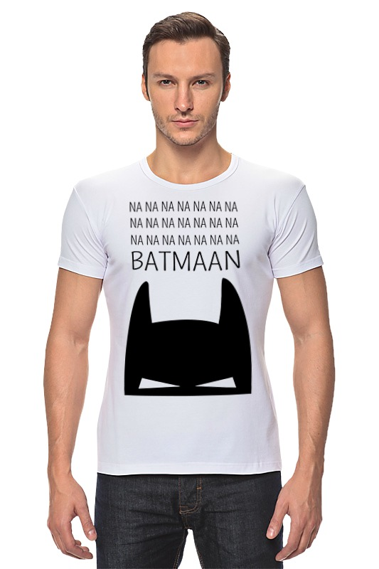 Футболка Стрэйч Printio Бетмэн ( batman )
