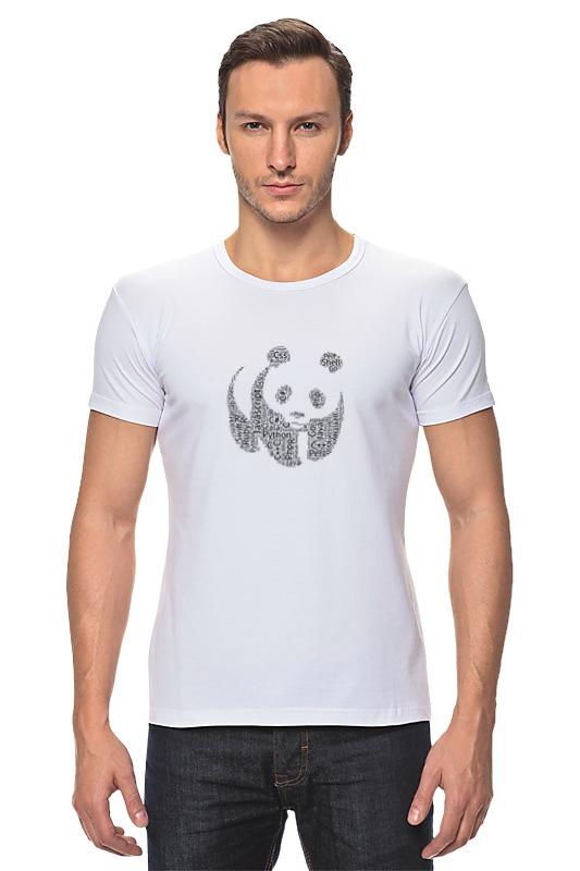цена на Футболка Стрэйч Printio Язык панды