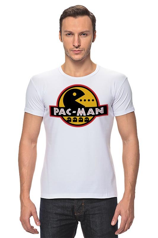 Футболка Стрэйч Printio Pac-man